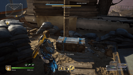 Outriders - Wanted - Scalp King Chest Location1