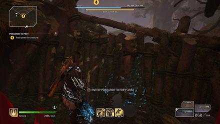 Outriders - Predator to Prey Track down the creature