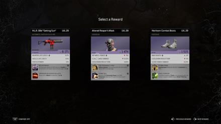 Outriders - Predator to Prey Quest Rewards