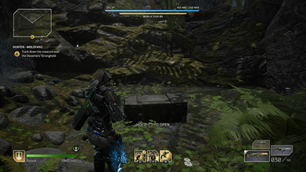 Outriders - Hunter - Moldfang Chest Location1