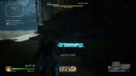 Outriders - Hunter - Spinewretch Chest Location1