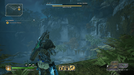 Outriders - Old Powers Cliffside Waterfall Third Obelisk
