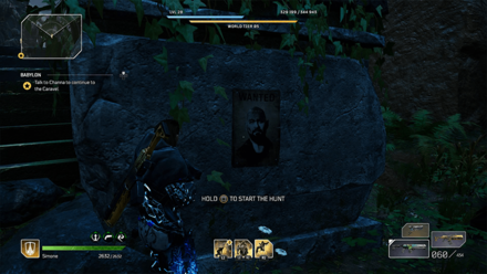 Outriders - Wanted - Blitzkrieg Poster Location