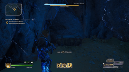 Outriders - Historian - Survival Chest Location1
