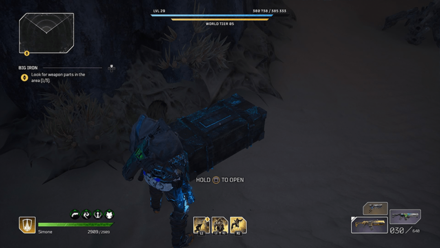 Outriders - Big Iron Chest Location1