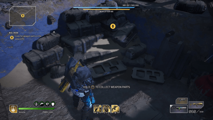 Outriders - Big Iron Weapon Part 3 Location