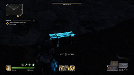 Outriders - Historian - Connection Chest Location1