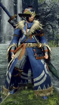 Kamurai Layered Armor Set (Hunter)