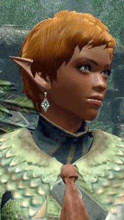 Wyverian Earrings Layered Armor Piece (Separate) (Hunter)