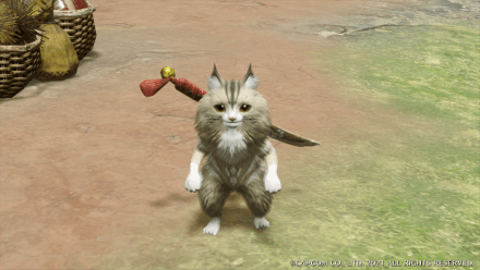 Forest Cat Layered Armor Set (Palico)