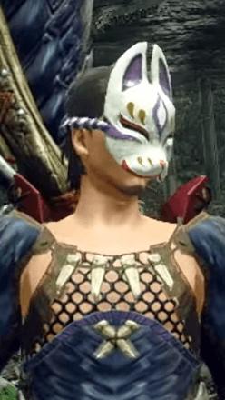 Fox Mask Layered Armor Piece (Separate) (Hunter)