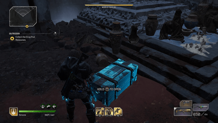 Outriders - Forgotten Chapel Chest Location1