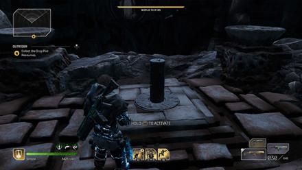 Outriders - Forgotten Chapel Third Pillar