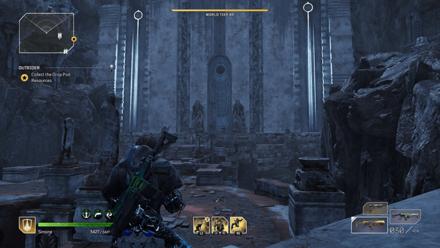 Outriders - Forgotten Chapel Monollith Bridge