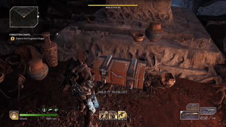 Outriders - Forgotten Chapel Collect the Loot