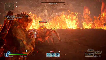Outriders - Molten Acari Phase 2 Flame Hoppers
