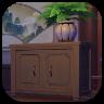 Геншин - Жилищная система - Маленький шкаф с вазой