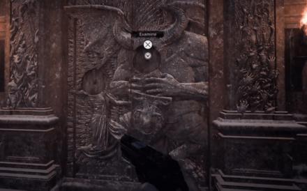 Resident Evil Village Crest Door