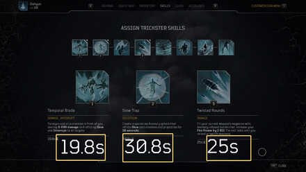 Cooldown Reduction Shards Before