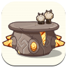 Genshin - Hilidream Camp - Round Stone Table