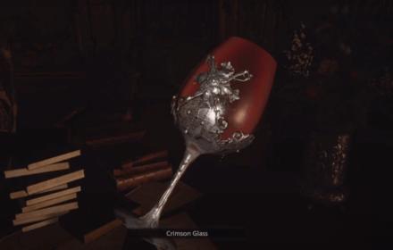 Resident Evil Village Crimson Glass