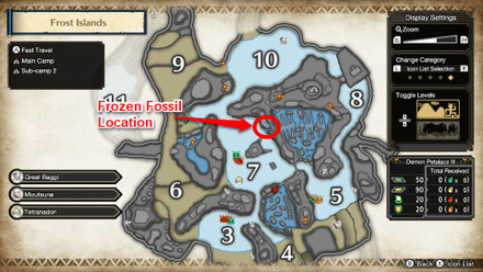 Frost Islands Frozen Fossil Location.png
