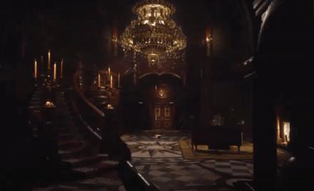 Resident Evil Village Stairwell Room