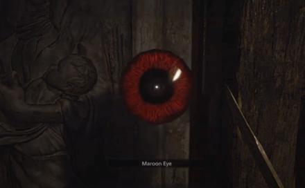Resident Evil Village Maroon Eye