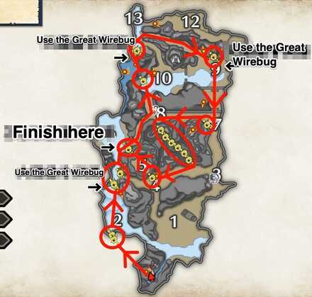 Monster Hunter Rise - Spiribug Collection Route.jpg