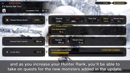 Monster Hunter Rise - Hunter Rank 13.png