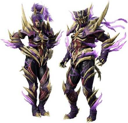 Sinister Seal Layered Armor Set (Hunter)