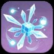 Изображение кристаллического цветения