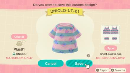 ACNH - Uniqlo Baby - UT21