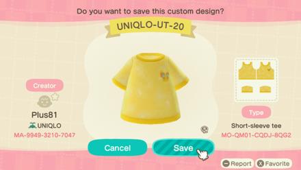 ACNH - Uniqlo Baby - UT20