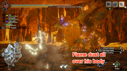 Teostra Flame Dust Armor.png