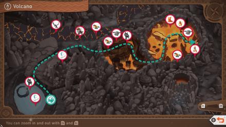 Volcano Map