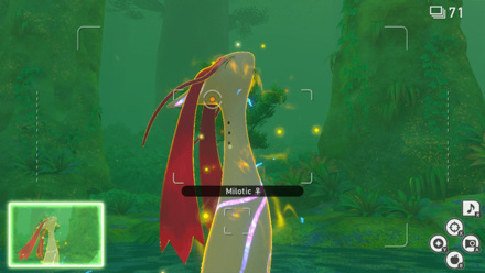 New Pokemon Snap - Illumina Milotic