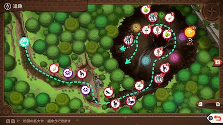 New Pokemon Snap - Jirachi Map Location1