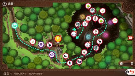 New Pokemon Snap - Jirachi Map Location2