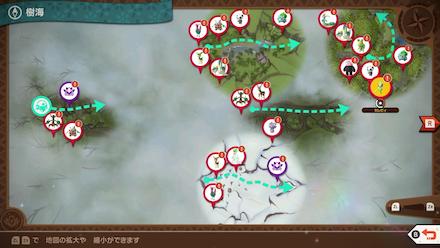 New Pokemon Snap - Celebi Map Location