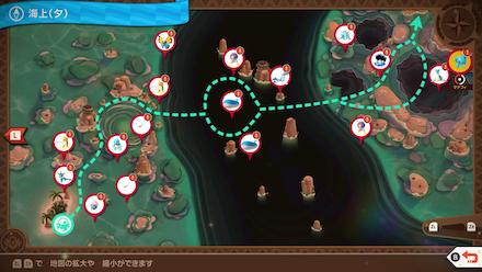 New Pokemon Snap - Manaphy Map Location