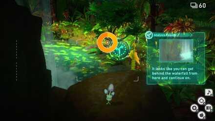 New Pokemon Snap Waterfall Alternate Route Jungle Night.jpg