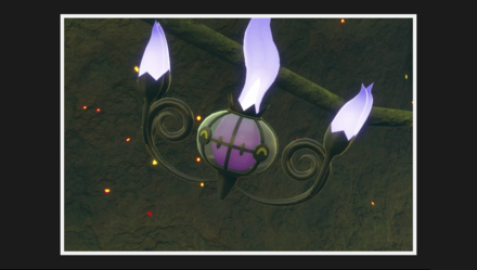 Chandelure 3 Star Photo