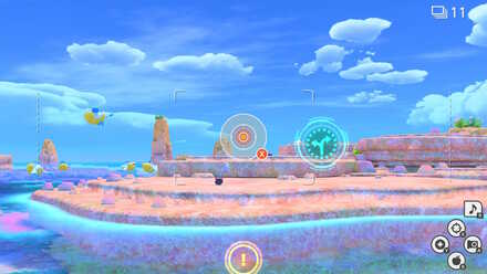 New Pokemon Snap Entering the Blue Hole.jpeg