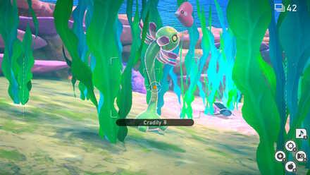 New Pokemon Snap Cradily Undersea.jpeg