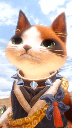 Spiked Collar Layered Armor Piece (Palico)