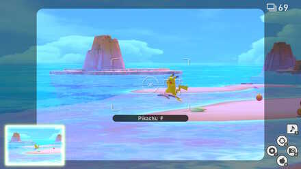 New Pokemon Snap Pikachu Surfing.jpeg