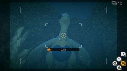 New Pokemon Snap - Lugia 2 Star Step 8
