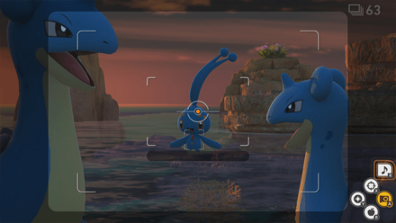 New Pokemon Snap - Manaphy 3 Star Step 3
