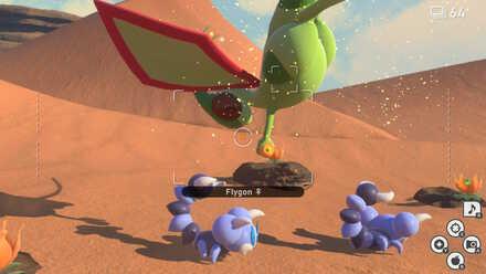 New Pokemon Snap Flygon Fluffruit.jpeg